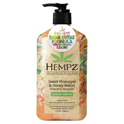 Hempz Limited Edition Look Sweet Pineapple and Honey Melon Moisturizer 17oz