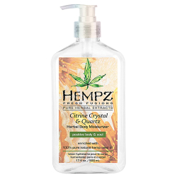 Hempz Citrine Crystal and Quartz Herbal Body Moisturizer 17oz