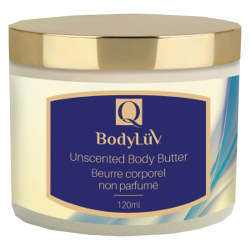 Quannessence Bodyluv Unscented Body Butter 120ml