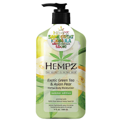 Hempz Limited Edition Look Exotic Green Tea & Asian Pear 17oz